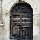 Door of the Alamo by artstoreroom