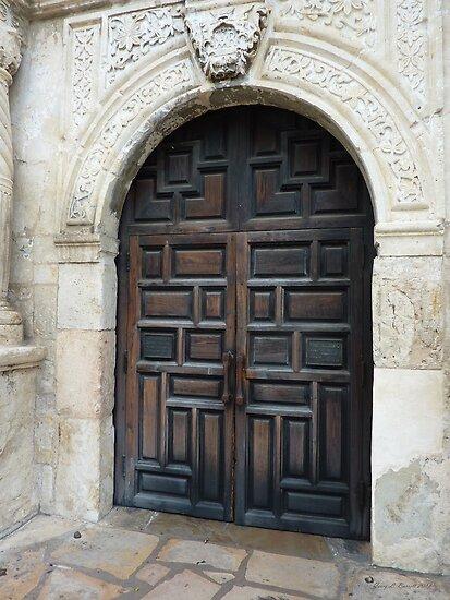 Door of the Alamo by artstoreroom
