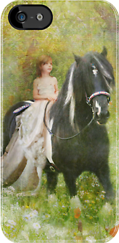 Riding With The Romany iPhone Case by Trudi's Images