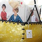 Vintage Sewing Patterns in Retro Home-made Basket by suburbanjubilee
