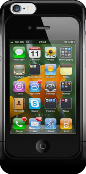 Front view of iPhone by Jari Vipele