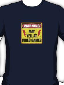 Gamer Warning T-Shirt