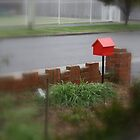 Red Letterbox by suburbanjubilee