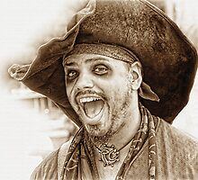 Laughing Pirate by CarolM
