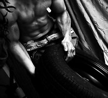 Rich With Tyres 2 by Eleanor Mayne