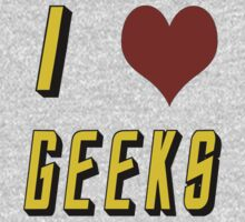 I Heart Geeks by melissagavin