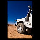 Land Rover Defender iPhone case by Dean Gale
