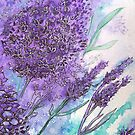 Lilacs iPhone Case by © Linda Callaghan