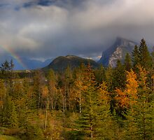 Bow Valley Fall  by JamesA1