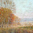 Autumn / 2011 / oil on canvas by Ivan KRUTOYAROV