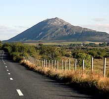 Country Road Connemara Ireland by JoeTravers