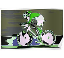 Cyclist 1 Poster