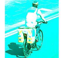 Dr. Bike Photographic Print