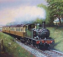 GWR 0.4.2T in Devon by Mike Jeffries