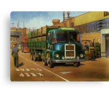 Lucas Scammell Routeman I Canvas Print