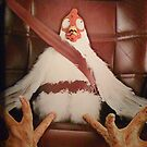 Scared Chicken by Mark Roon-Reitmeier
