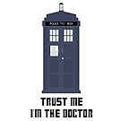 Trust me I&#x27;m The Doctor (iPhone Case) by PopCultFanatics