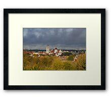 Vilnius. Old town. My city. Framed Print