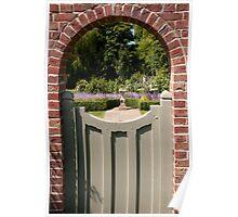 - Through the garden gate Poster