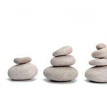Stacks of pebbles by Sami Sarkis