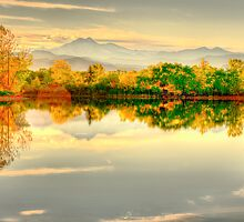 Reflections On Golden Ponds by Greg Summers
