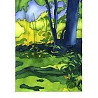 Psychedelic Summer by Kim Moulder