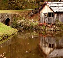 Mabry Mill, Virginia by Tom Michael Thomas