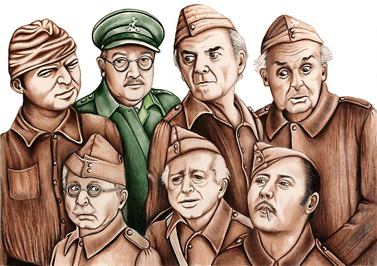 Dad's Army by Margaret Sanderson