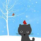 Hold still, there's a bird on your head by Jenn Inashvili
