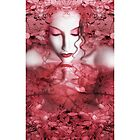 Red Autumn - Self Portrait - iPhone Case by Jaeda DeWalt