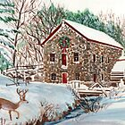 The Old Sudbury Grist Mill by katherine rohnert