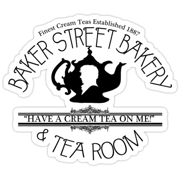 "BBC Sherlock ""Cream Tea"" Bakery & Tea Shop  by curiousfashion"