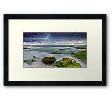 Sullen Dawn Framed Print