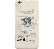 Mogwai iPhone Case/Skin
