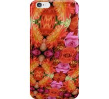 Flowers In Your Face iPhone Case/Skin
