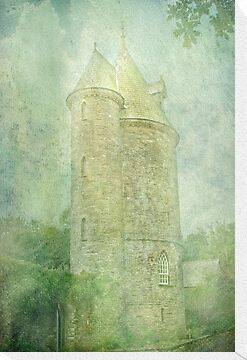 Trelissick Towers in Pastel by Catherine Hamilton-Veal  ©