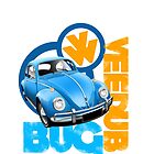 VW Beetle Graphic illustration by Autographics