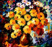 LOVE IRRADIATION - LEONID AFREMOV by Leonid  Afremov