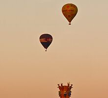 Three Balloons - iPhone case by Odille Esmonde-Morgan