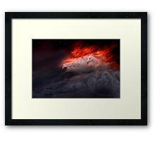 Fiery Gallop Framed Print