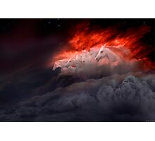 Fiery Gallop Photographic Print