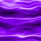 Abstract Purple Waves Iphone Case by Rajee
