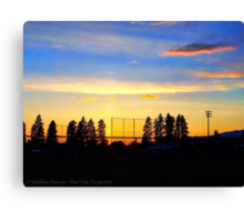 After the Game 2 Canvas Print