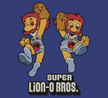 Super Lion-o Bros. by nikholmes