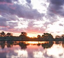 Wallamba River Sunset by STEPHEN GEORGIOU