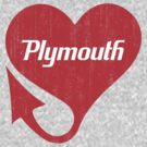 Plymouth &quot;We&#x27;ll Win You Over&quot; Heart Logo by KlassicKarTeez