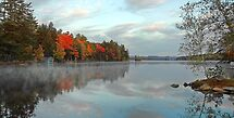 Fall - Highland Lake (Kramers Landing) by T.J. Martin