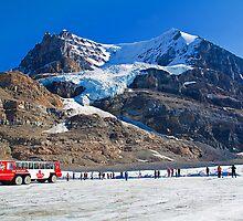 Canada. Athabasca Glacier. by vadim19