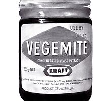 Vegemite by axemangraphics