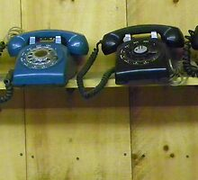 Old Time Phones by MaryinMaine